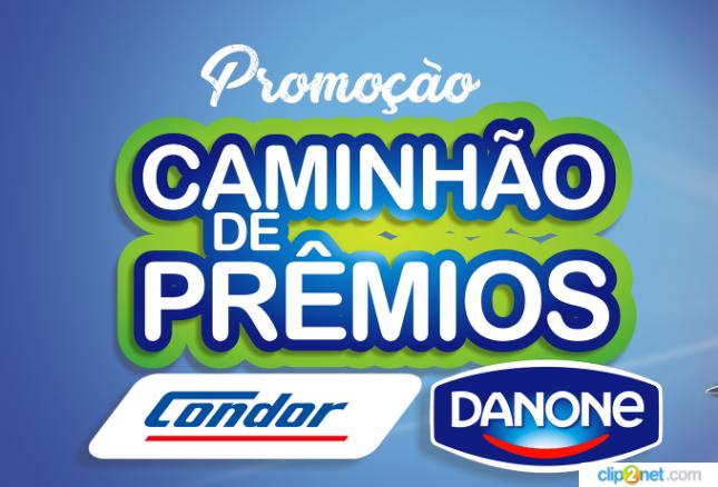 Promoção Caminhão de Prêmios: a Condor e a Danone juntas por você