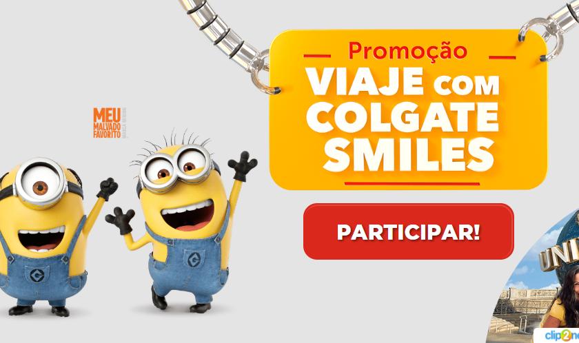 Promoção Colgate Smiles Minions: concorra a uma viagem