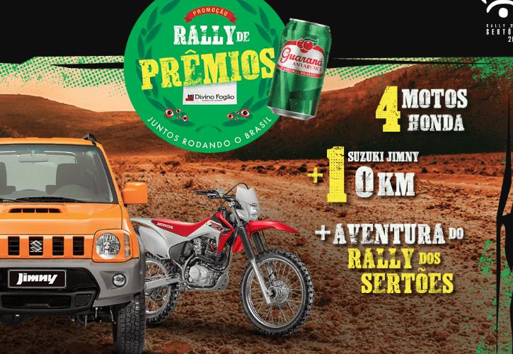 Promoção Divino Fogão: Rally de prêmios, juntos rodando o Brasil