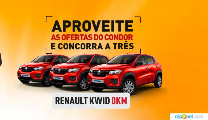 Promoção Lojas Condor: aproveite as ofertas da Condor e concorra a três carros