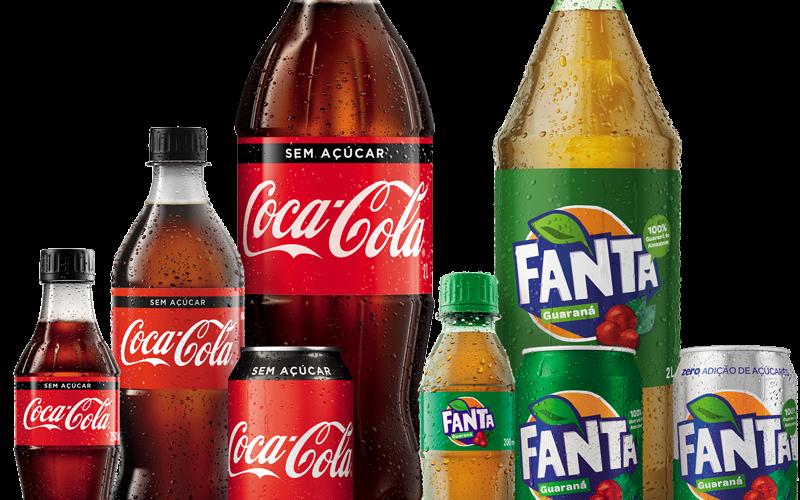 Promoção: Experimente grátis! Coca-cola e Fanta